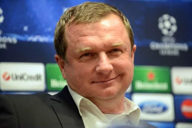 Cheftrainer Pavel Vrba. AFP PHOTO/ MICHAL CIZEK