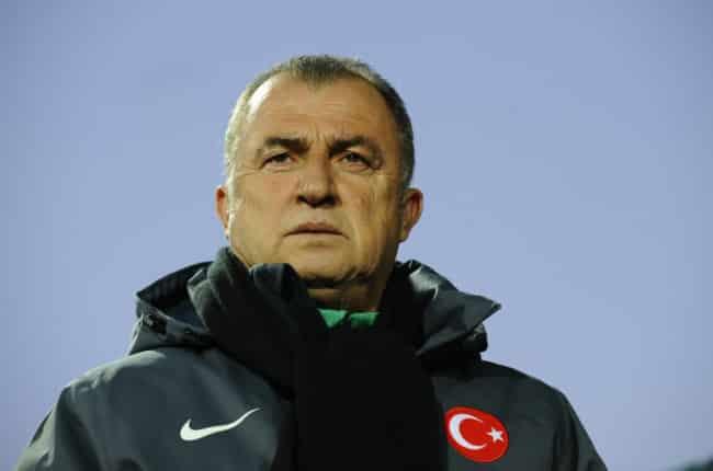 Der türkische Trainer Fatih Terim. AFPHOTO / JOHN THYS