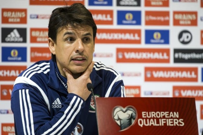Wales Nationalcoach Chris Coleman AFP PHOTO / JACK GUEZ