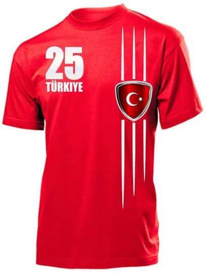 EM T-Shirt von der Türkei